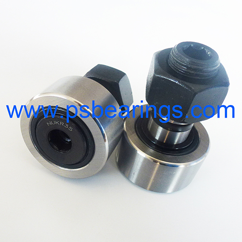 NUKR..A Series Metric Sealed Cam Follower Needle Roller Bearing