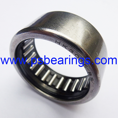 HK..RS Drawn Cup Needle Roller Bearings with One Seal
