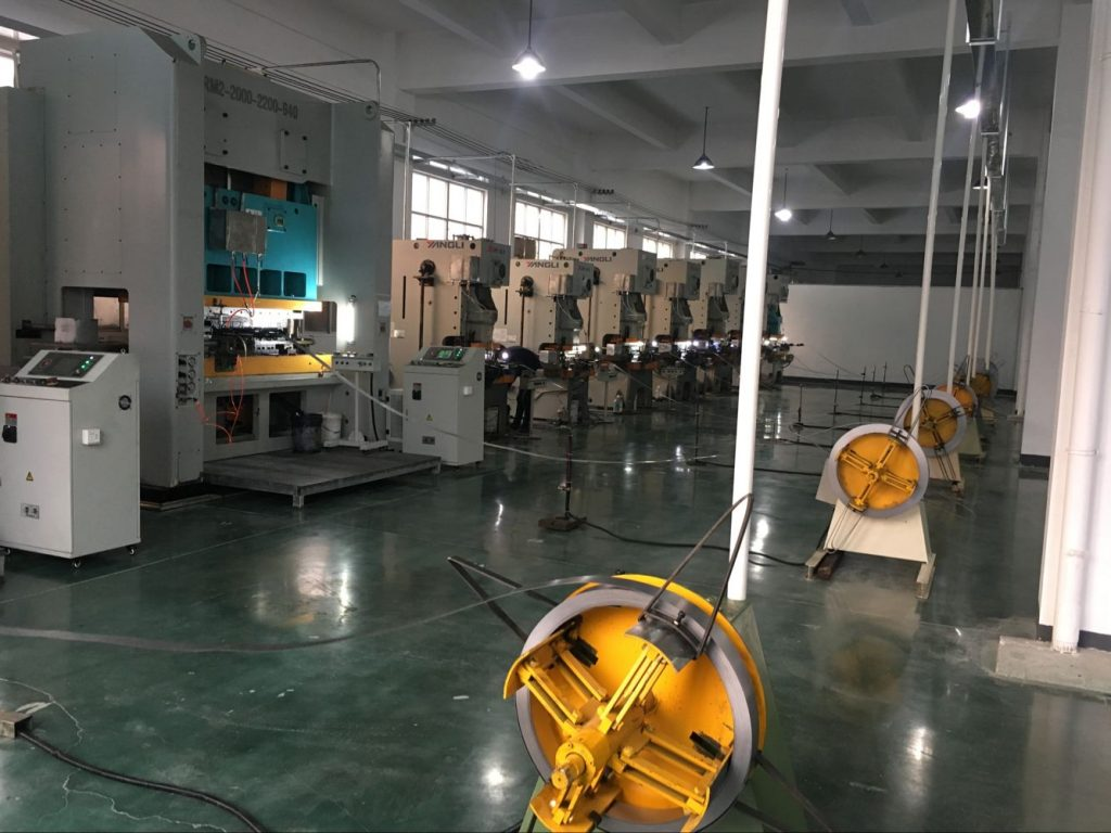 Automatic Multi-Station Punching Machine