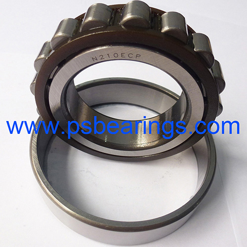 N..ECP Series Caged Cylindrical Roller Bearings