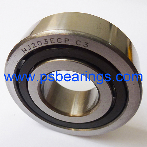 NJ..ECP Plastic Cage Cylindrical Roller Bearings